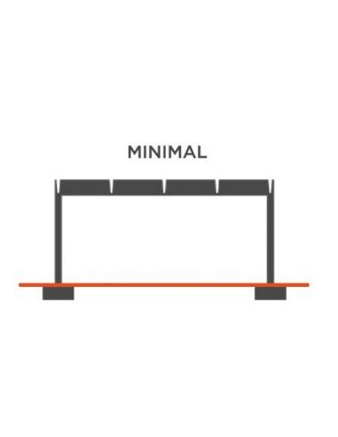 Pergola modulare Airoof Minimal